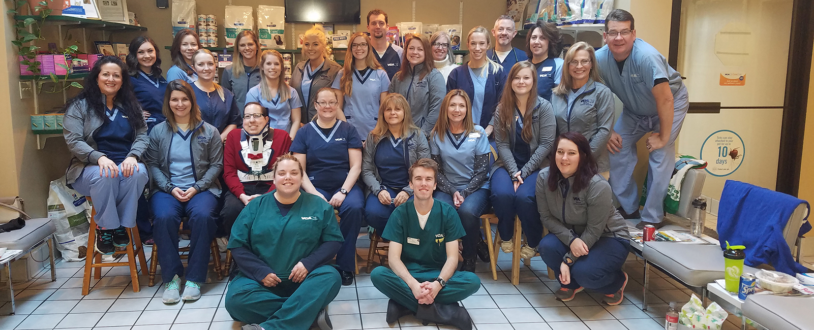 Homepage Team Picture of VCA Mill Run Animal Hospital