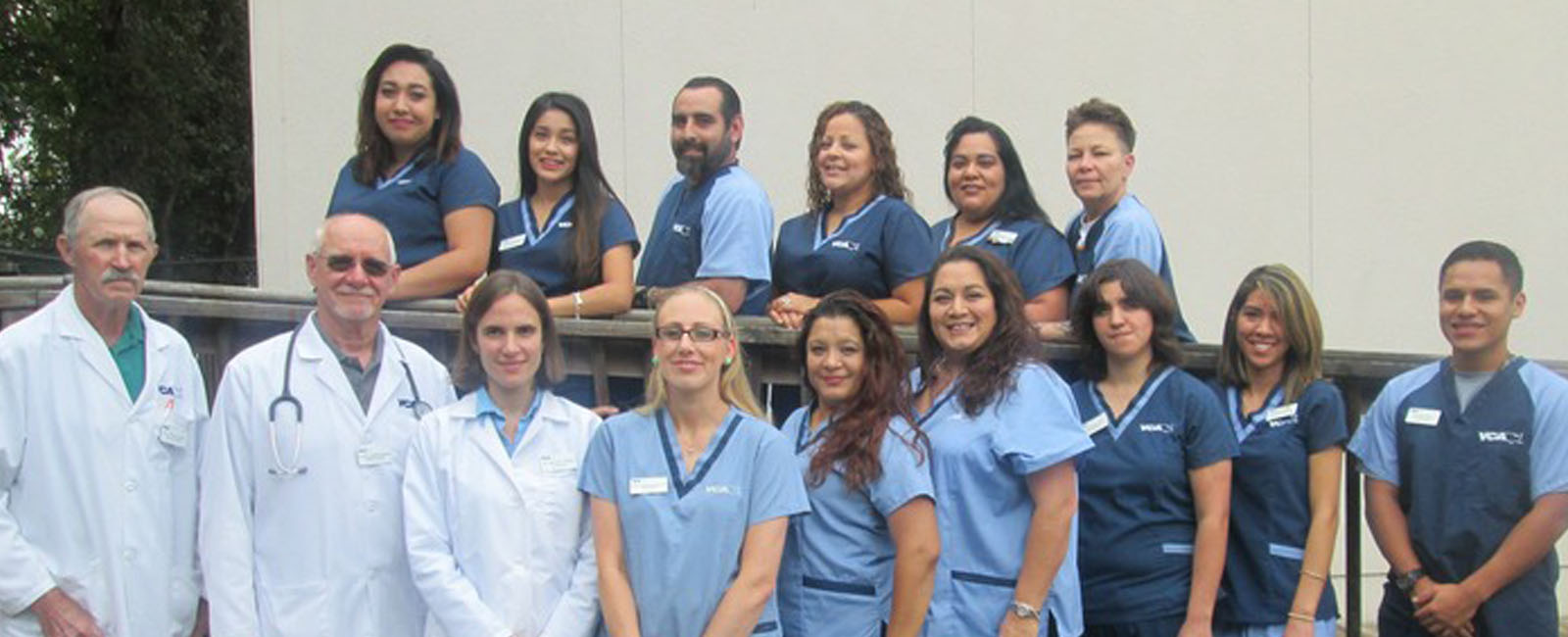 Homepage Team Picture of VCA Mission Animal Hospital
