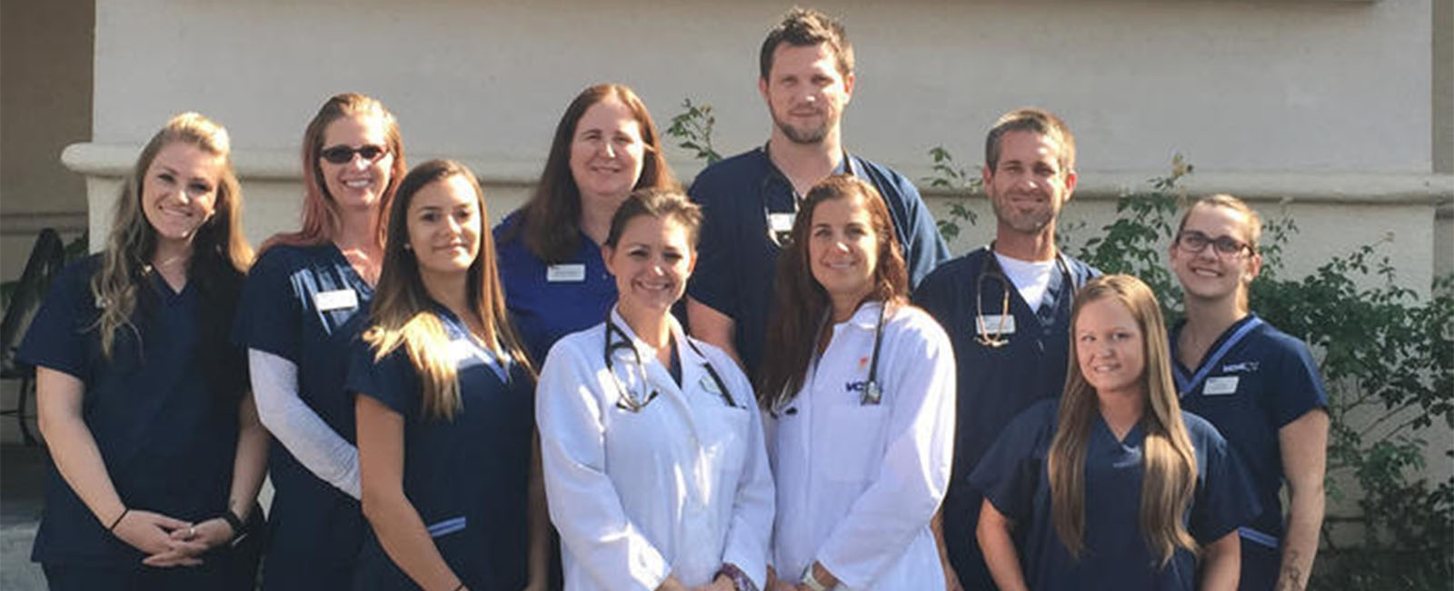 Homepage Team Picture of VCA Mission Viejo Animal Hospital