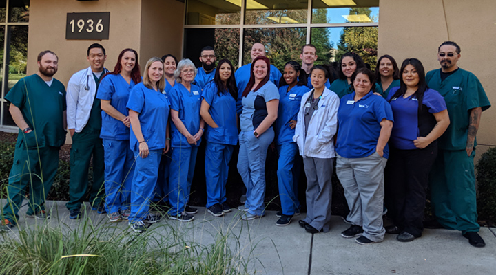 Homepage Team Picture of VCA Natomas Animal Hospital