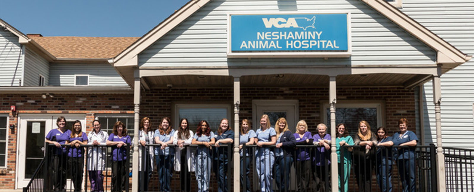 Homepage Team Picture of VCA Neshaminy Animal Hospital
