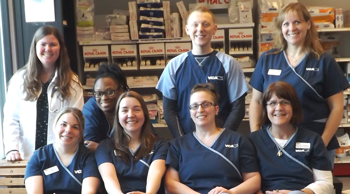 Homepage Team Picture of VCA Newark Animal Hospital
