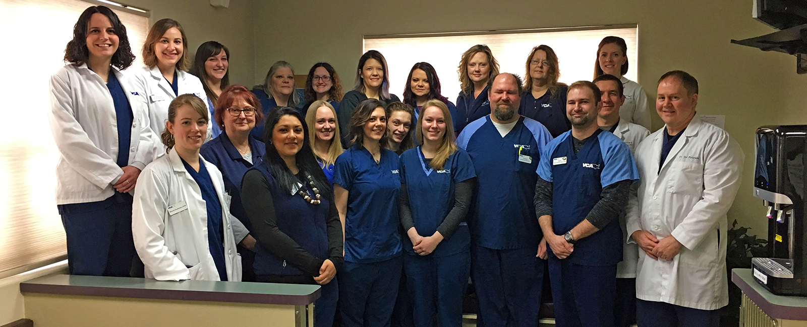 Homepage Team Picture of VCA North Division Animal Medical Center
