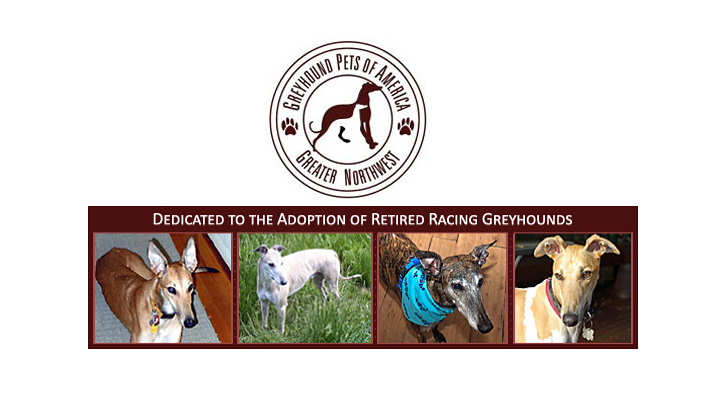 Greater Northwest Greyhound Pets of America logo
