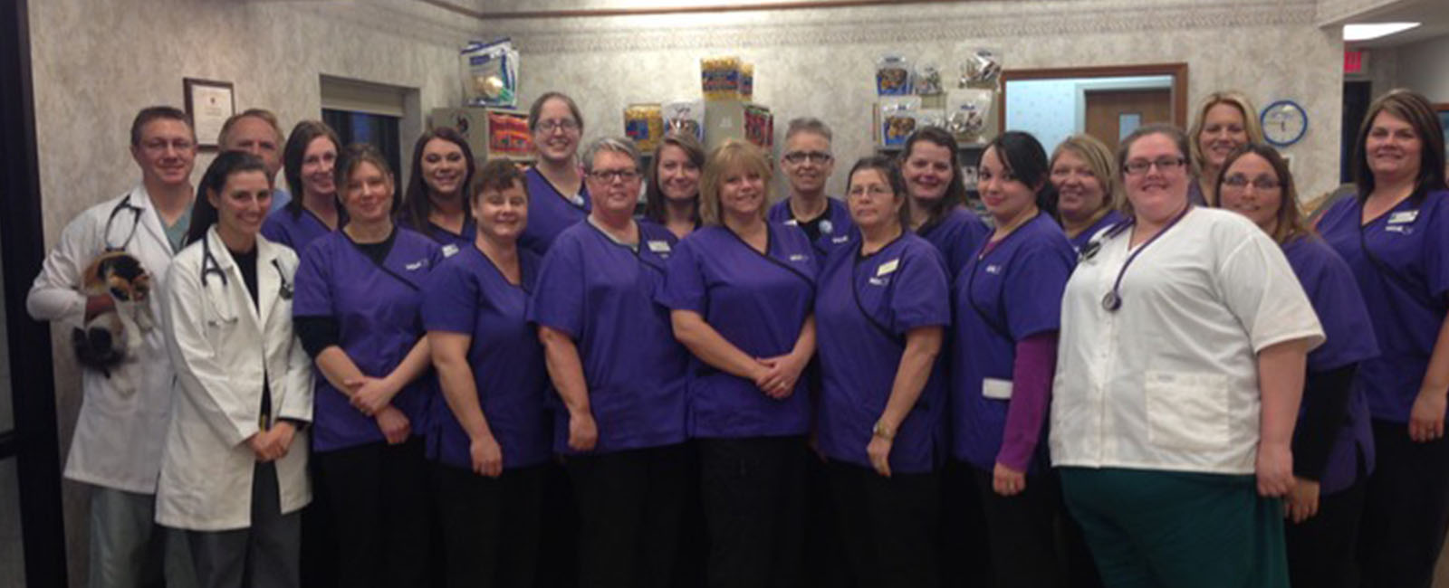 Homepage Team Picture of VCA Northwood Animal Hospital