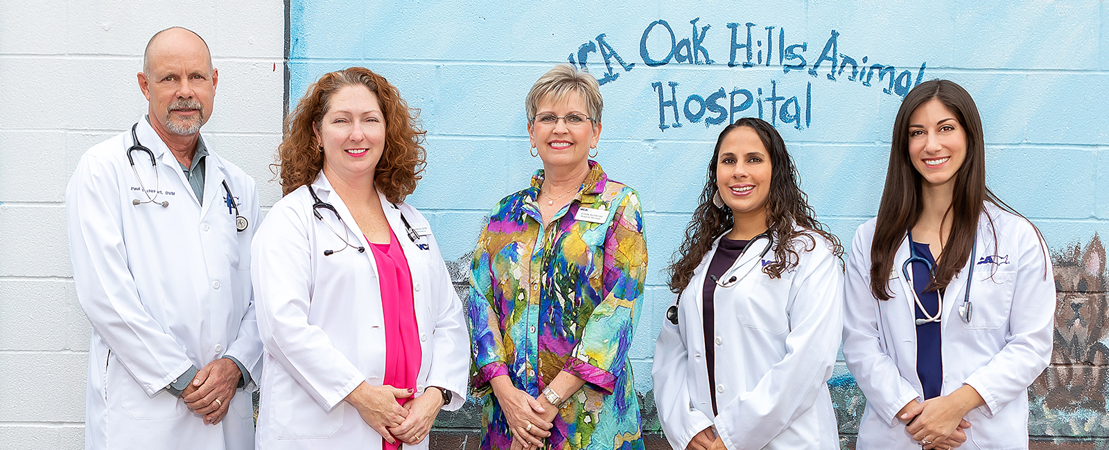 Team Picture of Oak Hills Animal Hospital