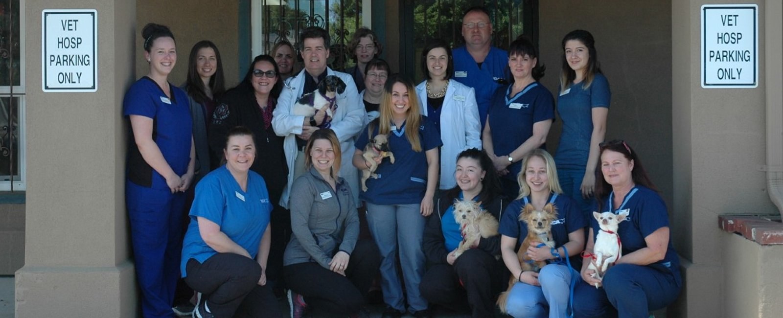 Team Picture of VCA Oakwood Animal Hospital