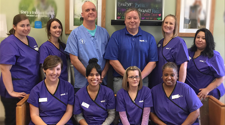 Homepage Team Picture of VCA Old Canal Animal Hospital