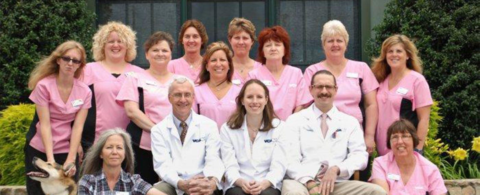 Homepage Team PIcture of VCA Old Trail Animal Hospital