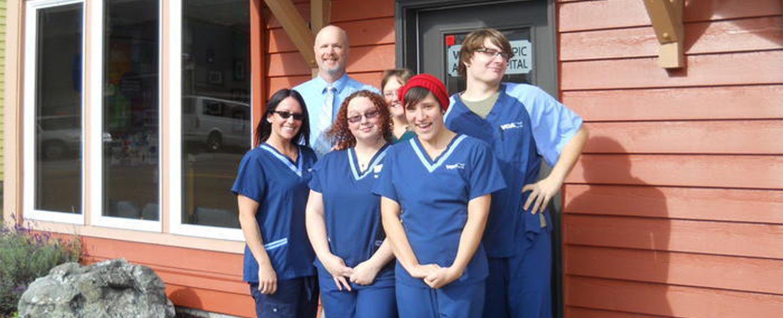 Homepage Team Picture of VCA Olympic Animal Hospital