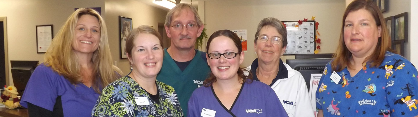 Team Picture of VCA Oneida Animal Hospital