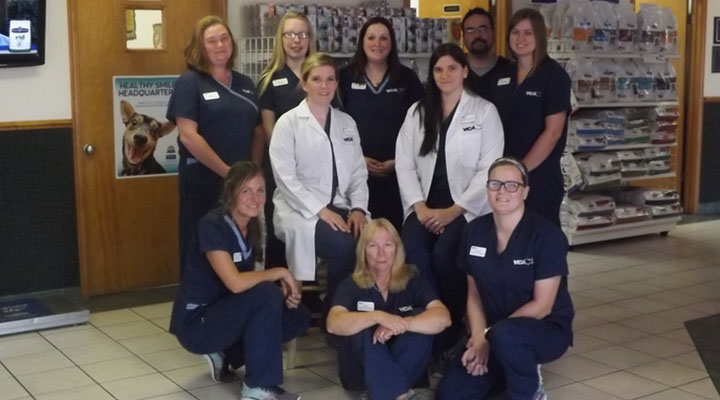 Team Picture of VCA Owasso Animal Medical Center