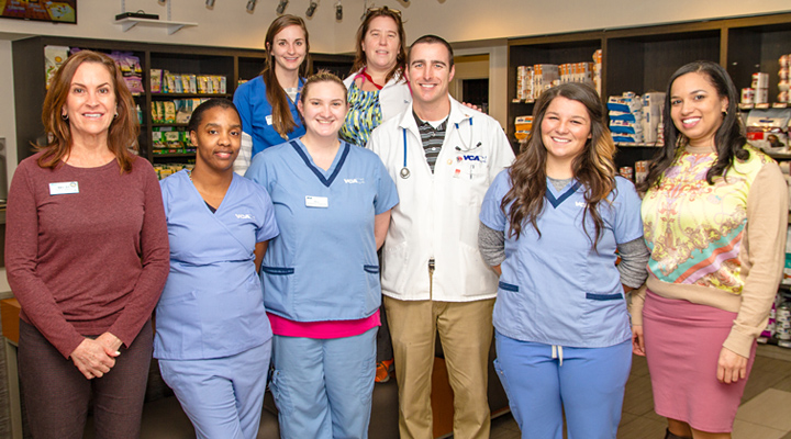 Homepage Team Picture of VCA Pets Are People Too Animal Hospital