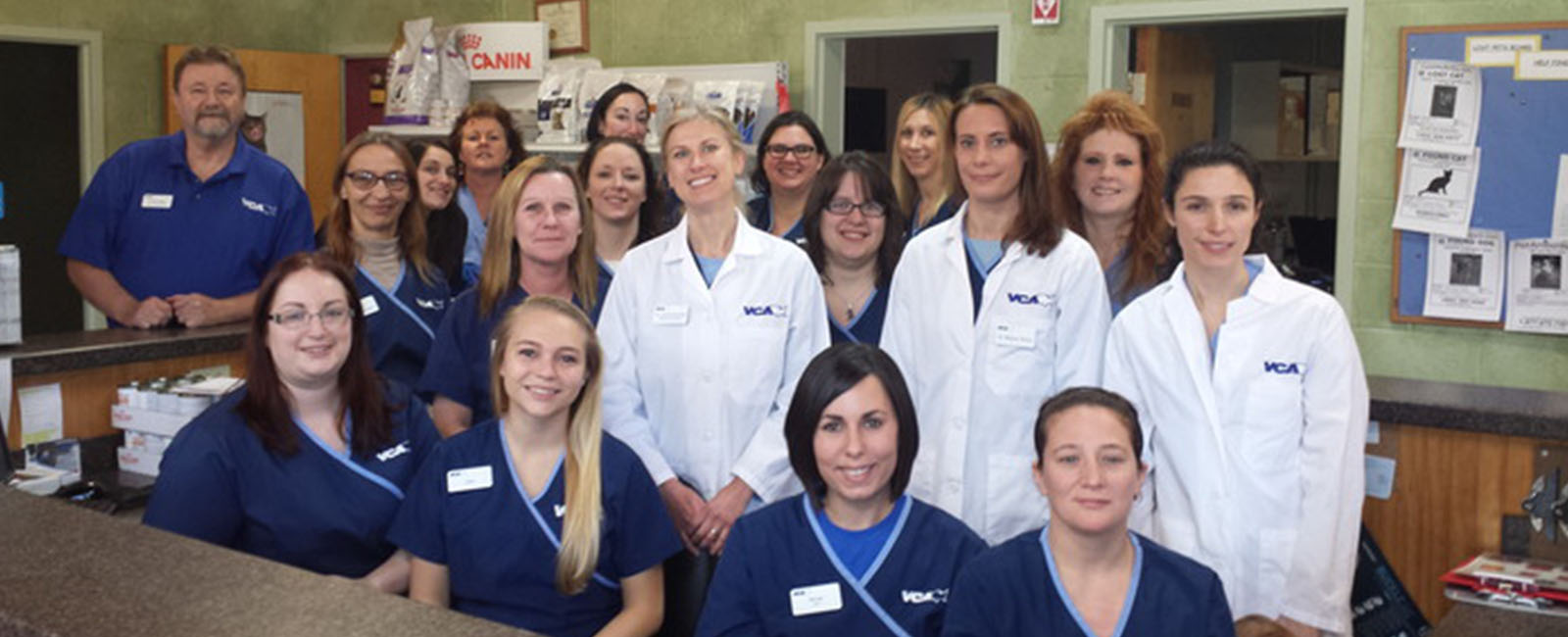 Homepage Team Picture of VCA Plainfield Animal Hospital