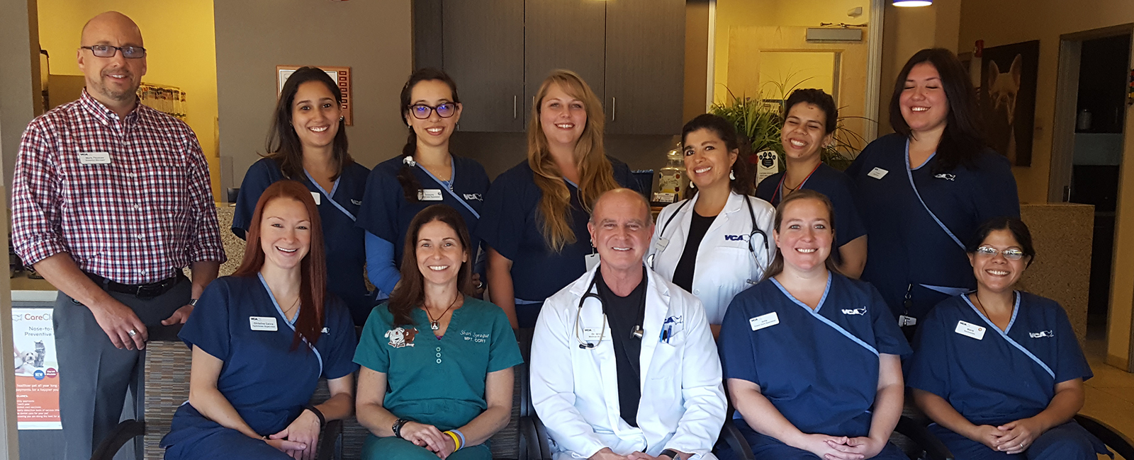 Homepage Team Picture of VCA Promenade Animal Hospital