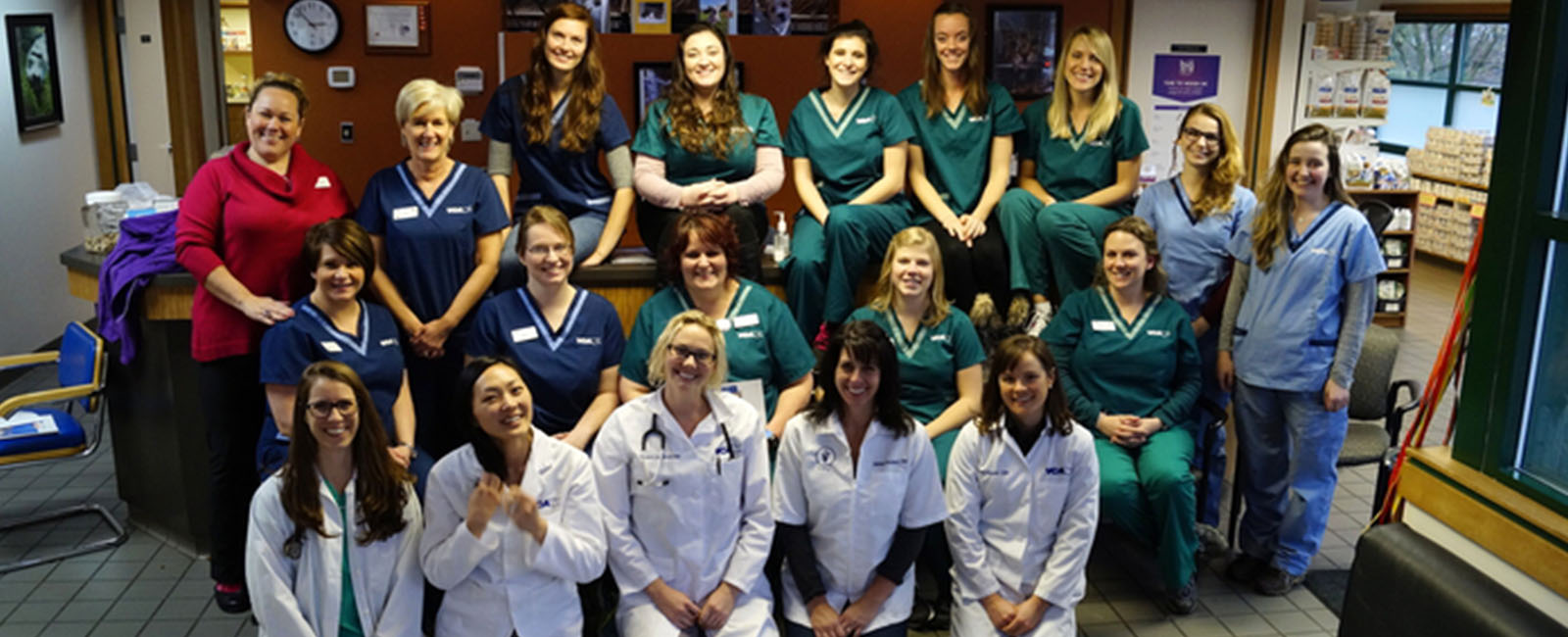 Homepage Team Picture of VCA Redmond Animal Hospital