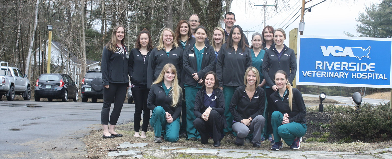 Homepage Team Picture of VCA Riverside Veterinary Hospital