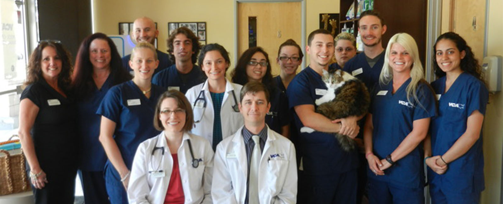 Homepage Team Picture of VCA Rock Creek Animal Hospital