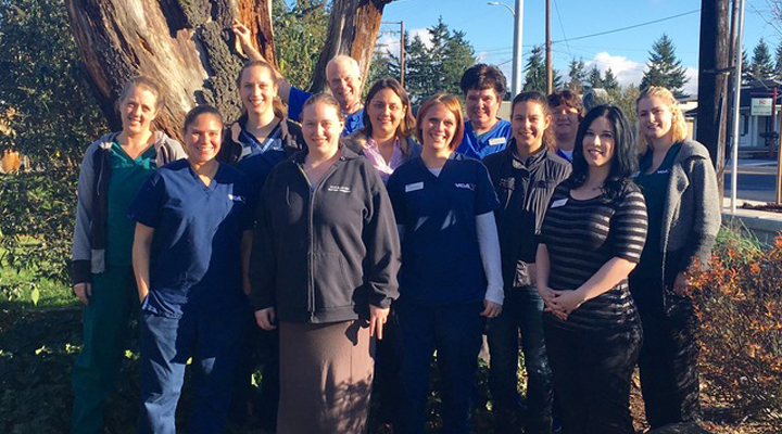 Team Picture of VCA Rose Hill Animal Hospital