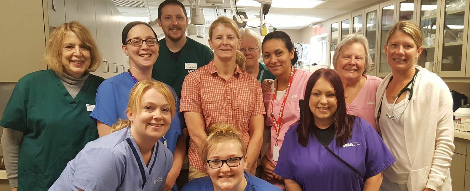 Team Picture of VCA Shaker Road Animal Hospital