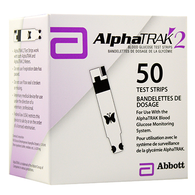 AlphaTRAK® 2 Blood Glucose Test Strips