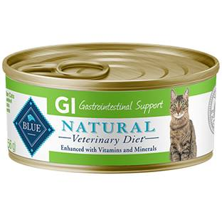 BLUE Natural Veterinary Diet® GI Gastrointestinal Support for Cats - Canned