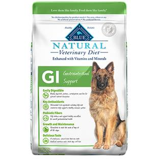 BLUE Natural Veterinary Diet® GI Gastrointestinal Support for Dogs - Dry