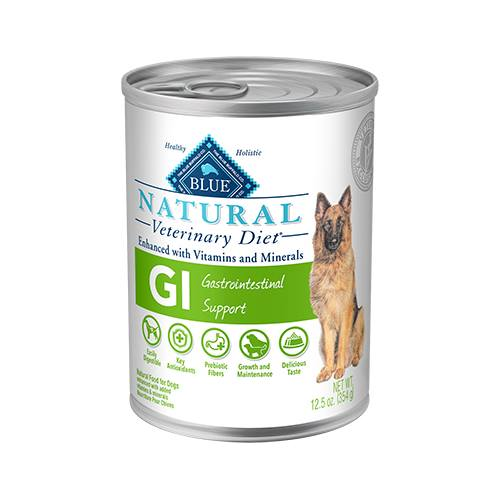 BLUE Natural Veterinary Diet® GI Gastrointestinal Support for Dogs - Canned