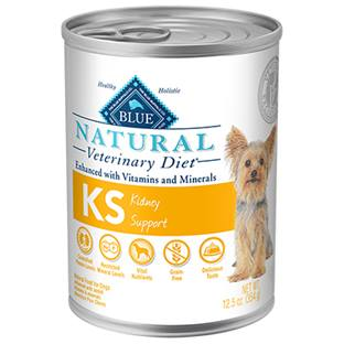 BLUE Natural Veterinary Diet® KS Kidney Support For Dogs - Canned
