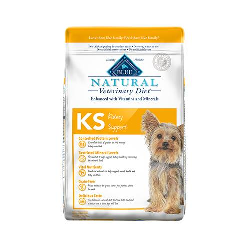BLUE Natural Veterinary Diet® KS Kidney Support For Dogs - Dry