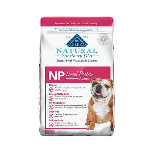 BLUE Natural Veterinary Diet® NP Novel Protein Alligator for Dogs - Dry