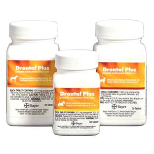 Drontal® Plus Canine Tablets