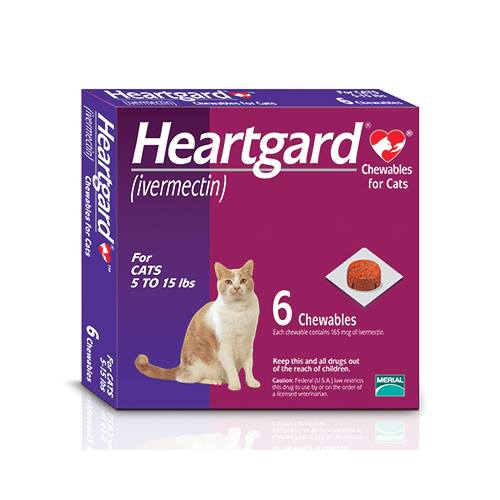 HEARTGARD® (ivermectin) Chewable for Cats