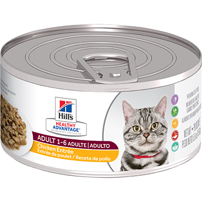 Hill's® Healthy Advantage® Adult Chicken Entrée Feline - Canned