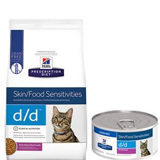 Prescription Diet® d/d® Skin/Food Sensitivities - Cat Food