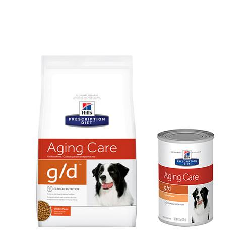 Hill's® Prescription Diet® g/d® Aging Care - Dog Food