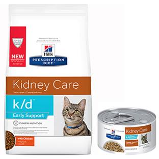 Hill's® Prescription Diet® k/d® Feline Early Support Chicken, Vegetable & Rice Stew - Canned