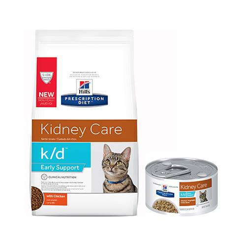 Hill's® Prescription Diet® k/d® Feline Early Support with Chicken - Dry