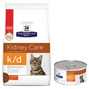Hill's® Prescription Diet® k/d® Feline Kidney Care - Dry
