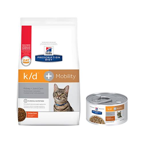 Hill's® Prescription Diet® k/d® + Mobility Feline - Canned