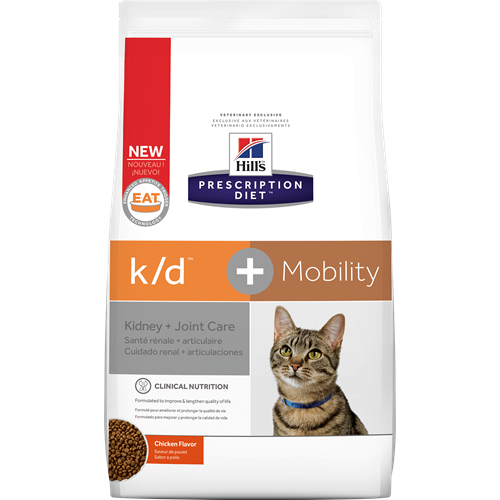 Hill's® Prescription Diet® k/d® + Mobility Feline - Dry
