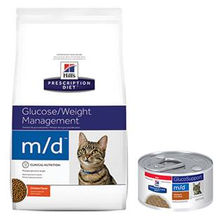 Hill's® Prescription Diet® m/d® Feline Glucose/Weight Management - Dry