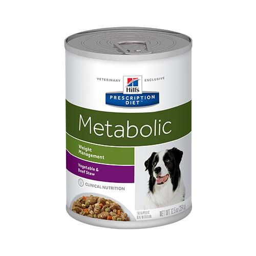 Hill's® Prescription Diet® Metabolic Canine Vegetable & Beef Stew - Canned