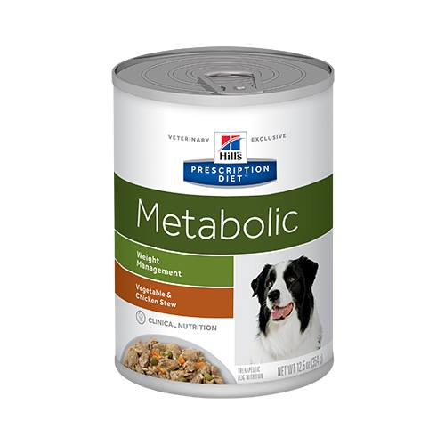 Hill's® Prescription Diet® Metabolic Canine Vegetable & Chicken Stew - Canned