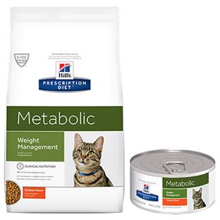 Hill's® Prescription Diet® Metabolic Feline Vegetable & Chicken Stew - Canned