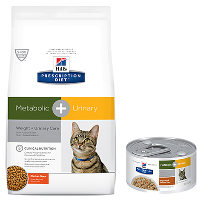 Hill's® Prescription Diet® Metabolic + Urinary Feline - Dry