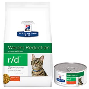 Hill's® Prescription Diet® r/d® Feline Weight Reduction - Dry