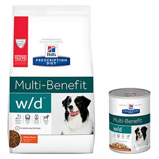 Hill's® Prescription Diet® w/d® Canine Multi-Benefit - Dry