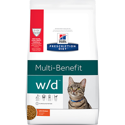 Hill's® Prescription Diet® w/d® Feline Multi-Benefit - Dry