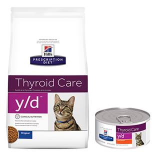 Hill's® Prescription Diet® y/d® Feline Thyroid Care - Dry